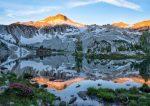 Sunrise on Glacier Lake, Wallowa Mountains, Oregon