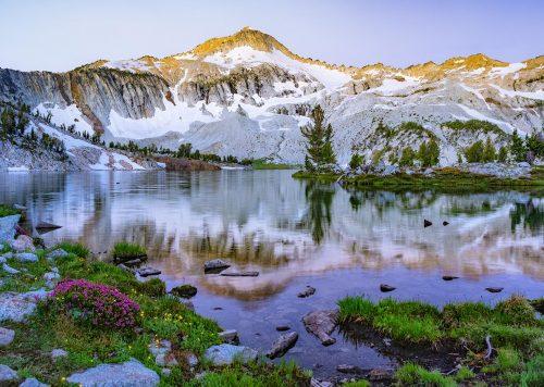 Glacier Lake, Eagle Cap Wilderness, Eastern Oregon, © Lori Rowland Photography
