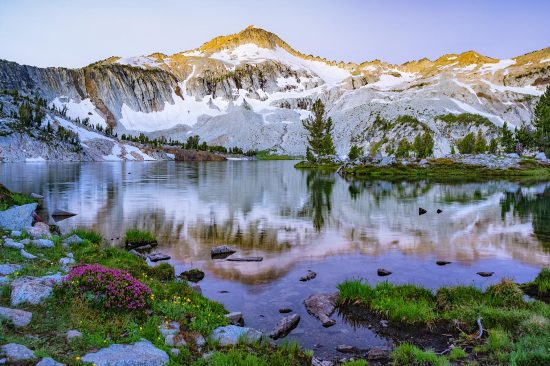 Glacier Lake, Eagle Cap Wilderness, Eastern Oregon, © Lori Rowland Photography