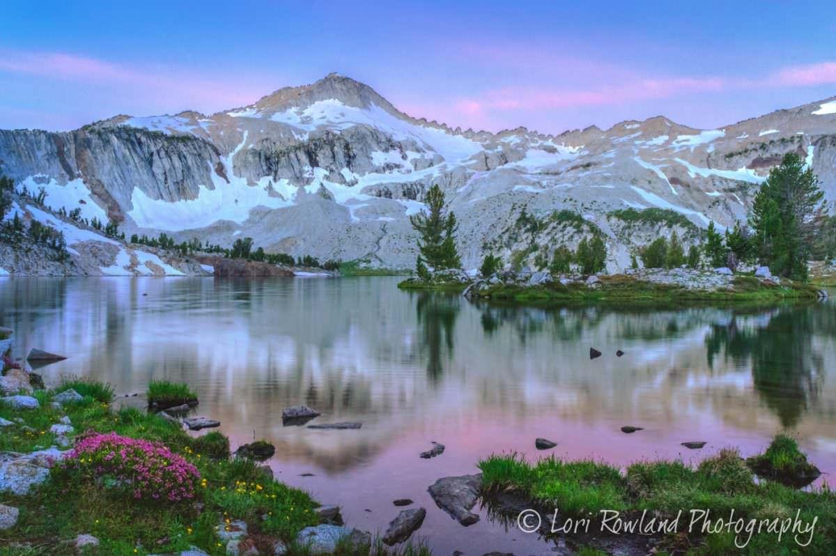 Glacier Lake, a premiere backpacking destination in the Eagle Cap Wilderness of Eastern Oregon