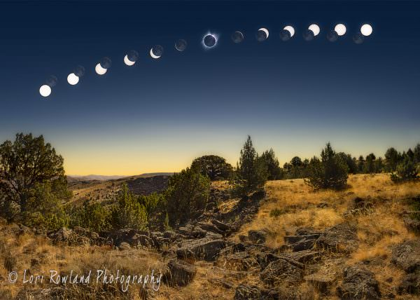 Rye Valley Solar Eclipse by Lori Rowland Photography