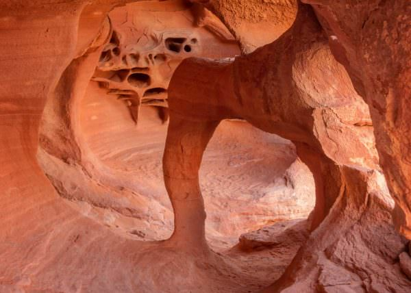 Wind Cave ~ Valley of Fire State Park, Nevada