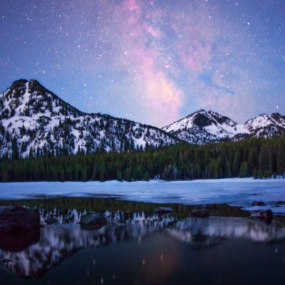 Milky Way Over Anthony Lakes