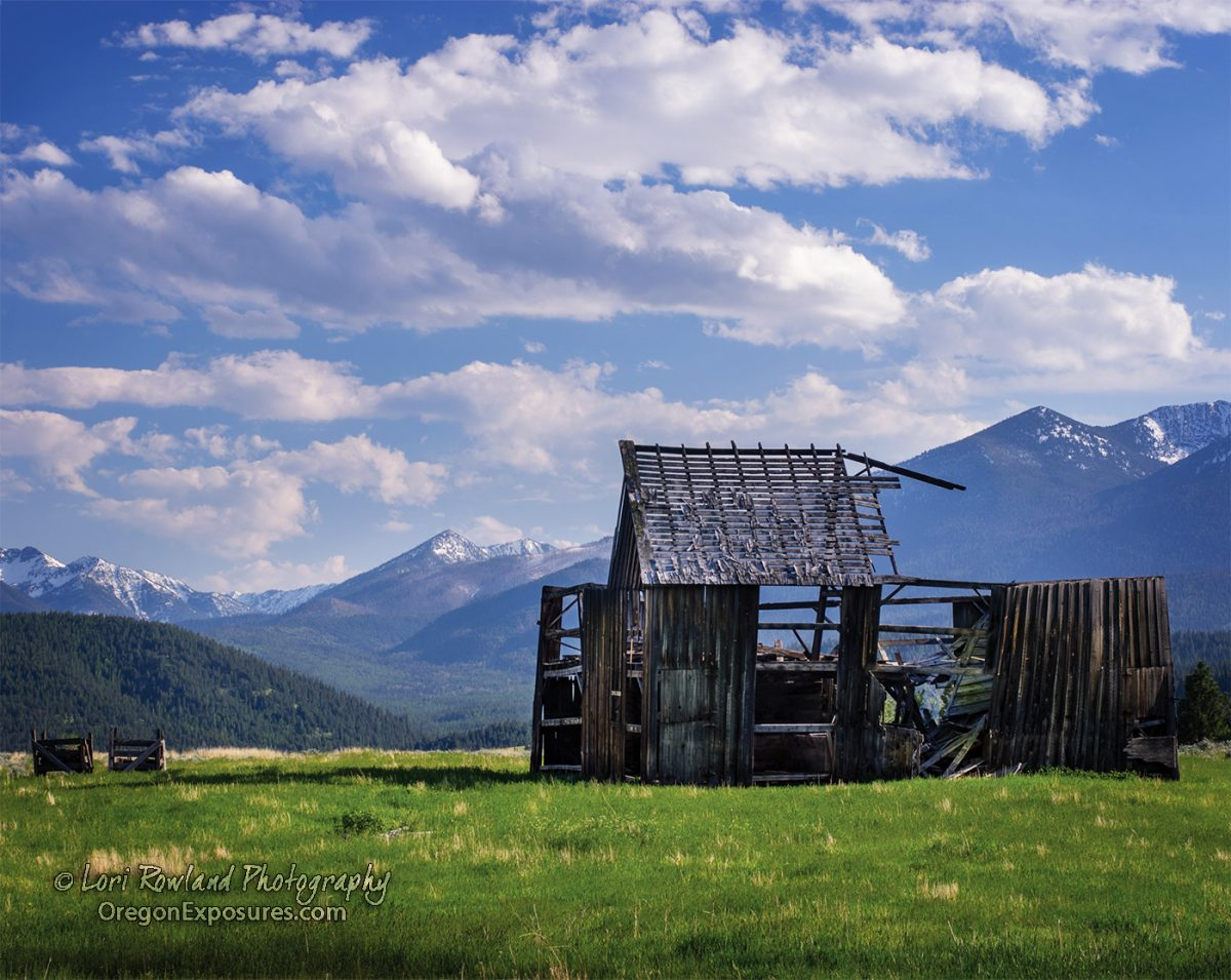 Pilcher Creek Barn has withstood the test of time and the elements. Located in Baker Valley, Oregon.
