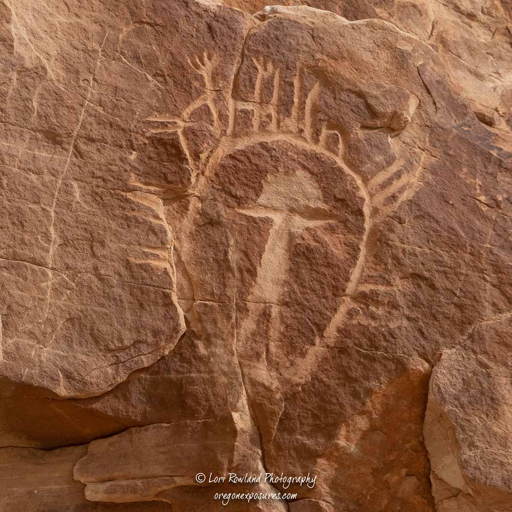 Unknown Petroglyph in Gold Butte National Monument
