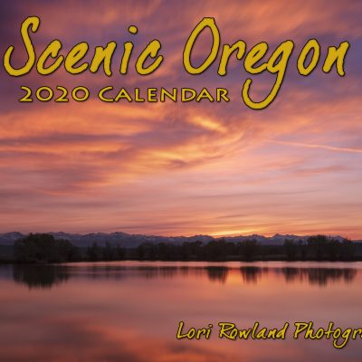 2020 Scenic Oregon Calendar Cover